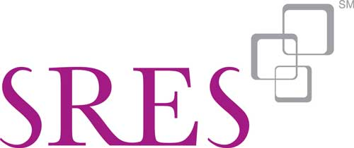 SRES - Senior Real Estate Specialist Logo in purple